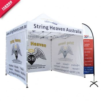 Retail 3x3 folding Top Quality custom tent