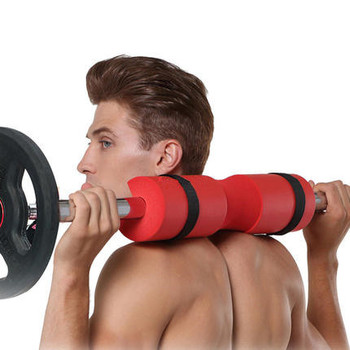 Oefening NBR Foam Barbell Pad, Barbell Squat Pad voor Hip Stoten, Squats en Lunges