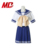 Big bow Asia style Japanese korean high school sailor collar Uniform