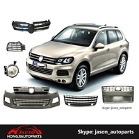 Auto Body Accessories For VW Touareg front bumper grille body kits