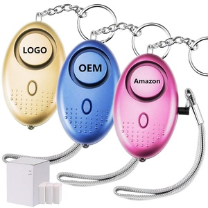 Wholesale Emergency Safe Security Anti Attack Defense Safety 130db Keychain Personal Alarm for Women Elderly