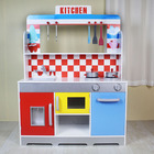 High quality funny educational children toys wooden kitchen play set