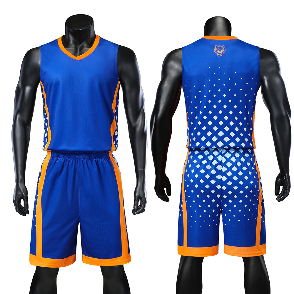 Reversible Men Basketball Jerseys Sets Shirts Shorts Suits Breathable Customized Print Draw Team Uniforms Sports Kit