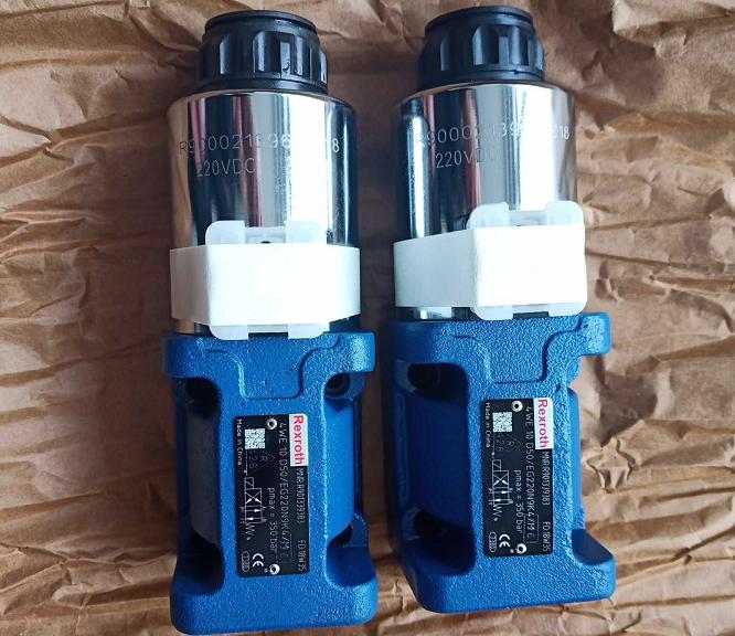 4WE10 серии гидравлический rexroth Тип направленного управления электромагнитный клапан 12 в 24 DC управление клапан
