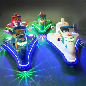 Outdoor Play Equipment Kids Bumper Car Remote Control With Music And Beautiful LED Light Electric Bumper Cars