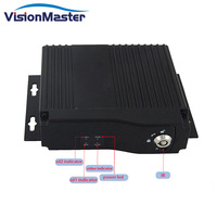 High Quality Small Size 4 Channel Mini Mobile DVR Recorder with 3g/4g Client software