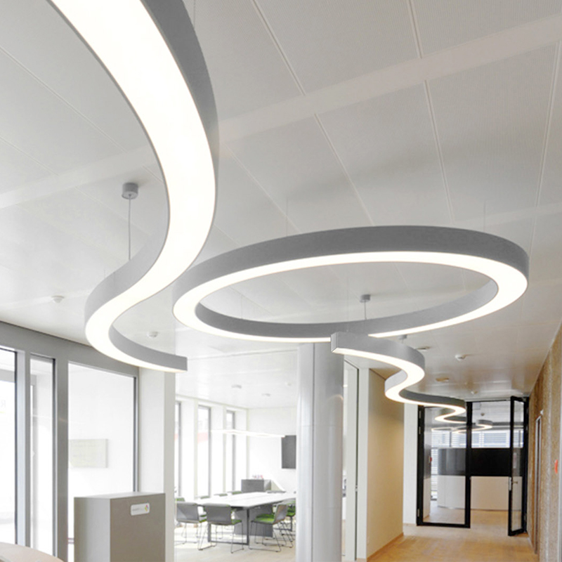 Curved Led Linear Light
