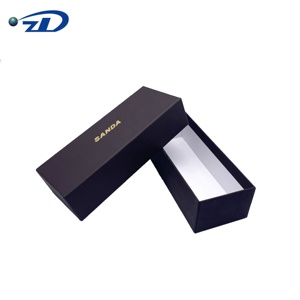 ZD Custom Sock Packaging Box Luxury Socks Gift Box With Stamping Logo