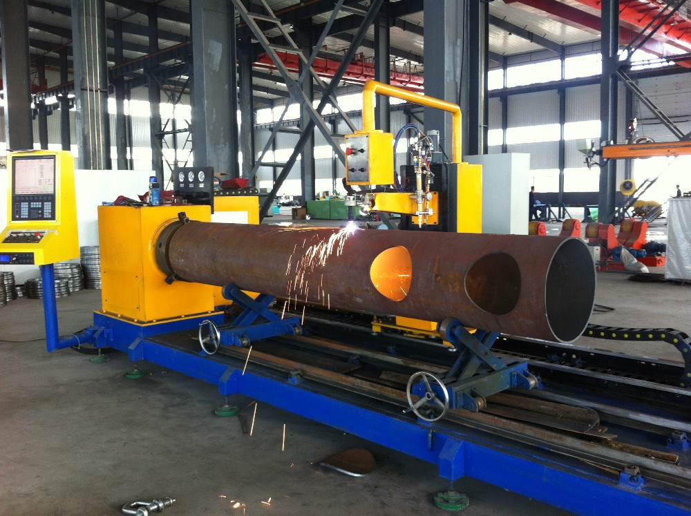 Automatic cbc steel pipe beveling cnc high definition