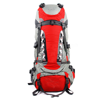 70L Waterproof Lightweight Outdoor Travel Camping Hiking Backpack Suitable for men and women Skiing Trekking Climbing Mountain
