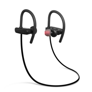 IPX7 Waterproof Sports Earbuds Earphones Headphones RU11, Bluetooth Headsets with Ear Hook Voice Prompt for Mobile