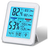 J&R 2019 New High Quality Touchscreen Backlit Temperature Humidity Recording Digital Thermometer and Hygrometer