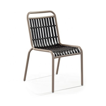 Prime Outdoor French Woven Aluminum Bistro Chair Paris Riviera Cafe Chair Buy Riviera Cafe Chair Aluminum Bistro Chair French Bistro Chair Product On Ibusinesslaw Wood Chair Design Ideas Ibusinesslaworg