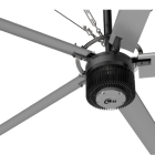 24ft/20ft Big Size Low Power Industrial HVLS Giant Ceiling Fans