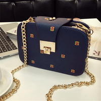 Bolsa Feminina Casual Single Shoulder Bag Chain Bag Women's Bag