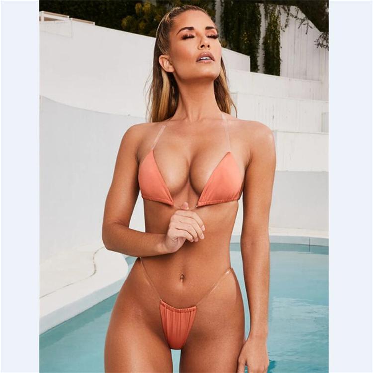 04713c3a010 JT4339 Hot Sale Wholesale Clear Strap Sexy Brazilian Micro Bikini