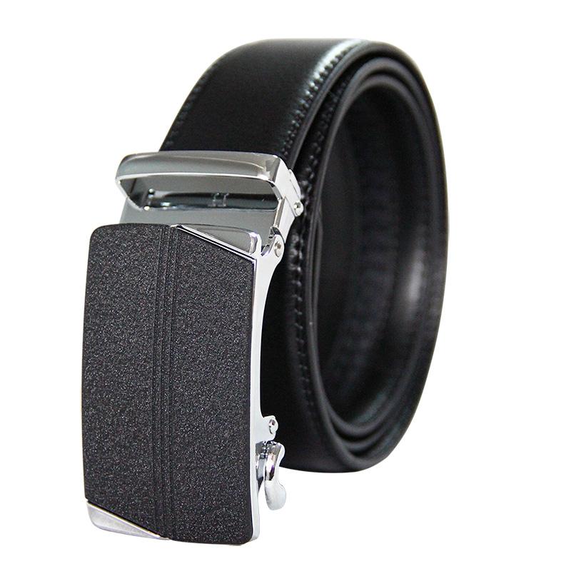 Hebilla automática para cinturon de hombre trinquete Real genuino cinturones