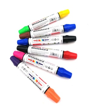 New double head two dual different color tips colorful whiteboard dry erase marker
