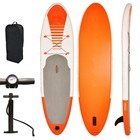 Stand Up Paddle Board Sup Plastic Surfboard With Fin