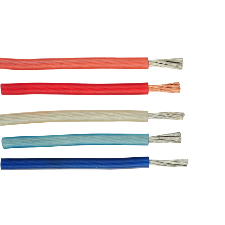 Huxi-cable Solid/Frost/Clear Jacket Tinned <strong>Copper</strong>/OFC/CCA Conductor 4 gauge car audio power wire