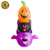 4ft Polyester Inflatable Halloween Decoration, Halloween Inflatable Pumpkin Cat, Air Blow Halloween Decoration