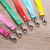 Manufacturer price long silk nylon polyester lanyard with iphone keychain