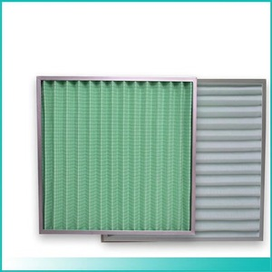 Large dust holding washable pre air filter