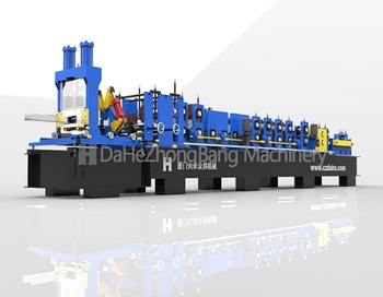 Metal  C  Purlin Roll Forming Machine Top Level  Stud C Channel Roll Forming Machine