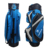 China made Holdhand blue and black color customized Logo golf cart bag with ten top dividers
