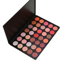 Make Your Own Brand Custom Logo Palette Private Label 35 Colors Eyeshadow Palette with Matte and Shimmer Eyeshadow