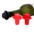 High Quality Hat Bottle Cap Cover Silicone Wine Stoppers Bar Tools Funny Gifts