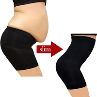 Plus Size Underwear High Waist Women's Control Pants Body Shaper Seamless Slimming Pants