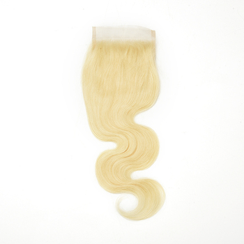 Various styles blond hair pieces natural ladies hair