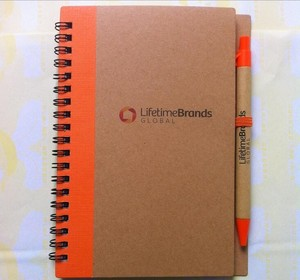 Pu Notebook And Pen Gift Sets With Calculator