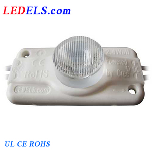 CE, RoHS, UL compliant,lighbox led module with lens led injection module