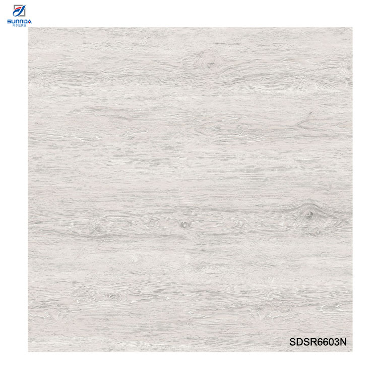 China Grey White Wooden Look <strong>Flooring</strong> <strong>Tiles</strong> Glazed Rustic <strong>Porcelain</strong> <strong>Non</strong> <strong>Slip</strong> Performance <strong>Tiles</strong> 60x60cm Digital Printing <strong>Tiles</strong>