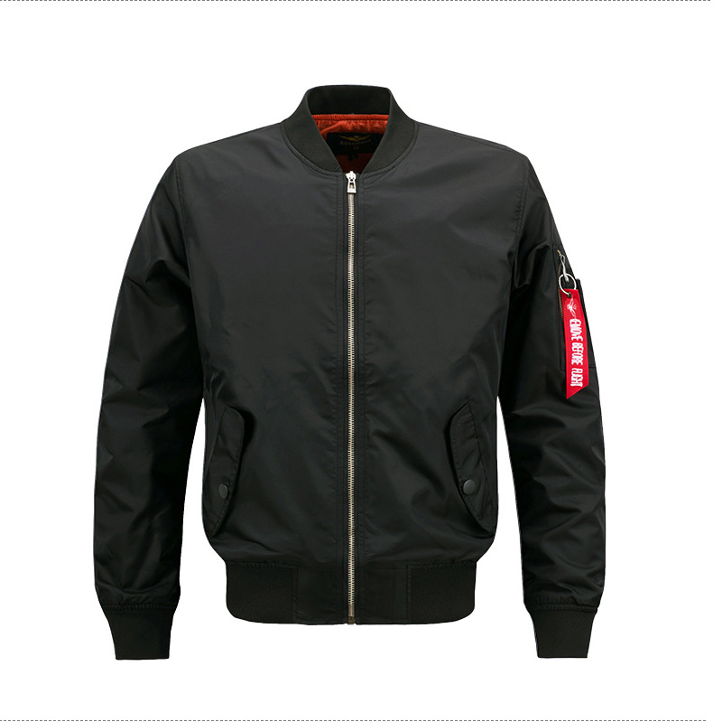 fa2e77a08 China plain bomber jacket wholesale 🇨🇳 - Alibaba