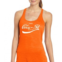 latest design soft material fashion girls athletic racerback tank tops