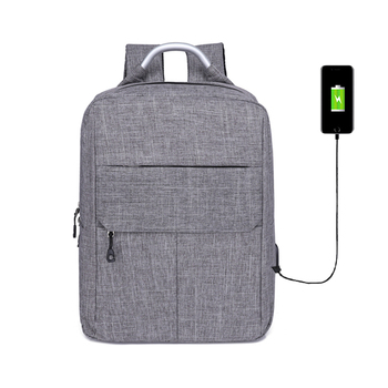 2019 China custom lightweight waterproof outdoor anti thief unisex sport back pack bag Laptop backpack with USB charging
