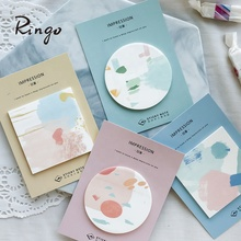 Ronde sticky note set acryl memo notes