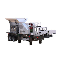 Top Brand Track Mounted Portable Mobile Impact Crusher Plant