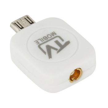 Micro USB Mini USB DVB-T HD sintonizador de TV Digital por satélite Dongle RECEPTOR + antena para Android 4,03-4,10 teléfono móvil sintonizador de TV