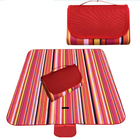 Family Picnic Blanket with Tote, Foldable and Waterproof Camping Mat for Outdoor Beach Hiking Grass Travel