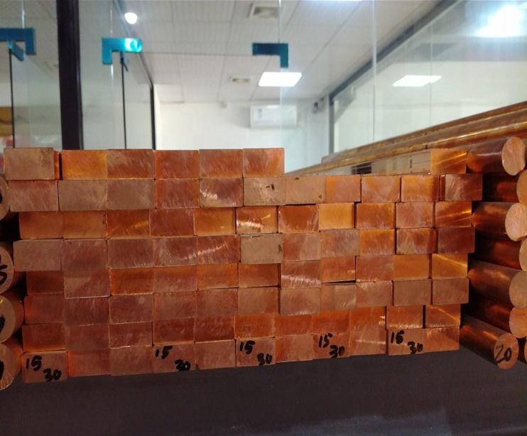 Copper Alloy Brass flat bar copper busbar copper rod