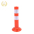 traffic collapsible delineator post /plastic road sign post