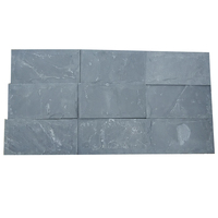 Natural Decorative Stone Black Slate Natural Split Tile