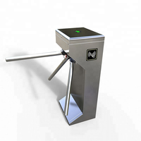 ZENTO Turnstile Price Qr Scanner Vertical Tripod Tourniquet Door With Wiegand Rfid Access Control