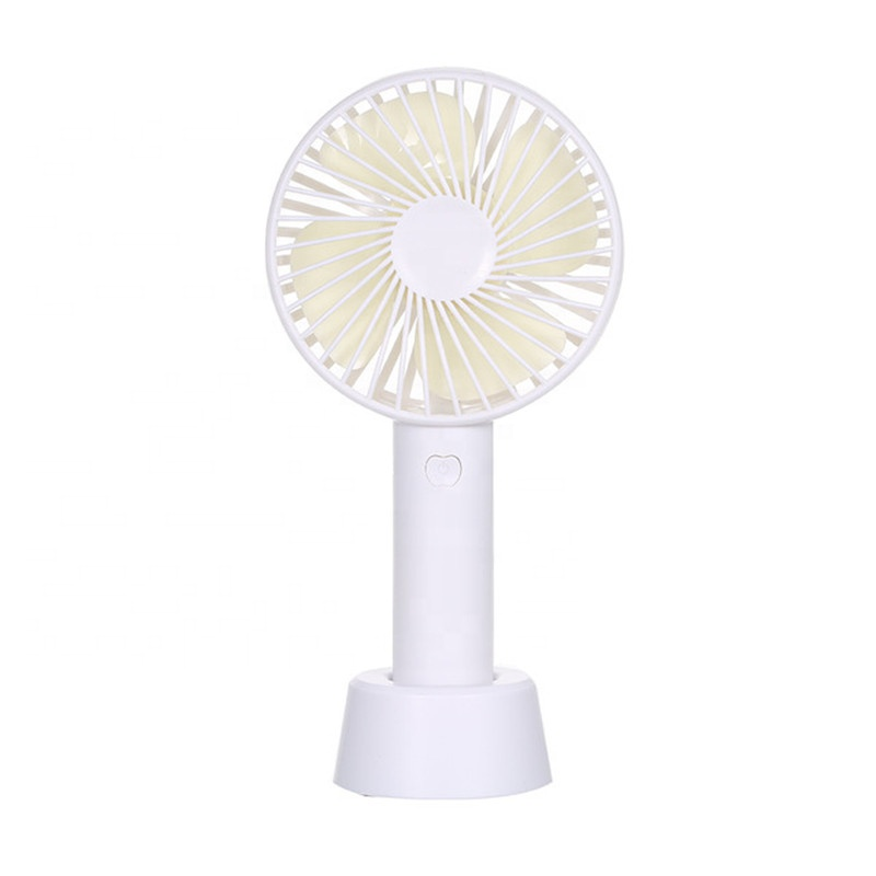 Factory cheap price electric Rechargeable Mini Portable Hand USB <strong>Fan</strong> with 1200mah 18650 battery