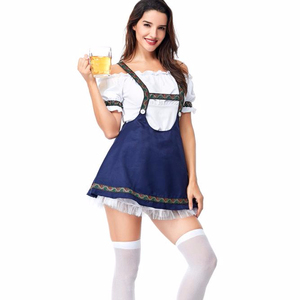 87bb5062bff Costume Cosplay Beer Dress Sex Girl Sexy Maid Bavarian Woman Wholesale  Traditional Carnival For German Dirndl Oktoberfest