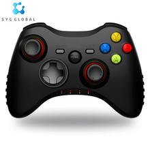 Hot Sale 2.4G Nirkabel N6 Pro Gamepad PC untuk PS3 TV Box <span class=keywords><strong>Joystick</strong></span> 2.4G Joypad Game Controller Remote
